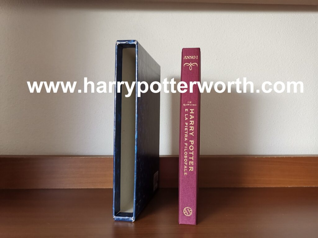 Harry Potter and the Philosopher's Stone Numbered Limited Italian Edition