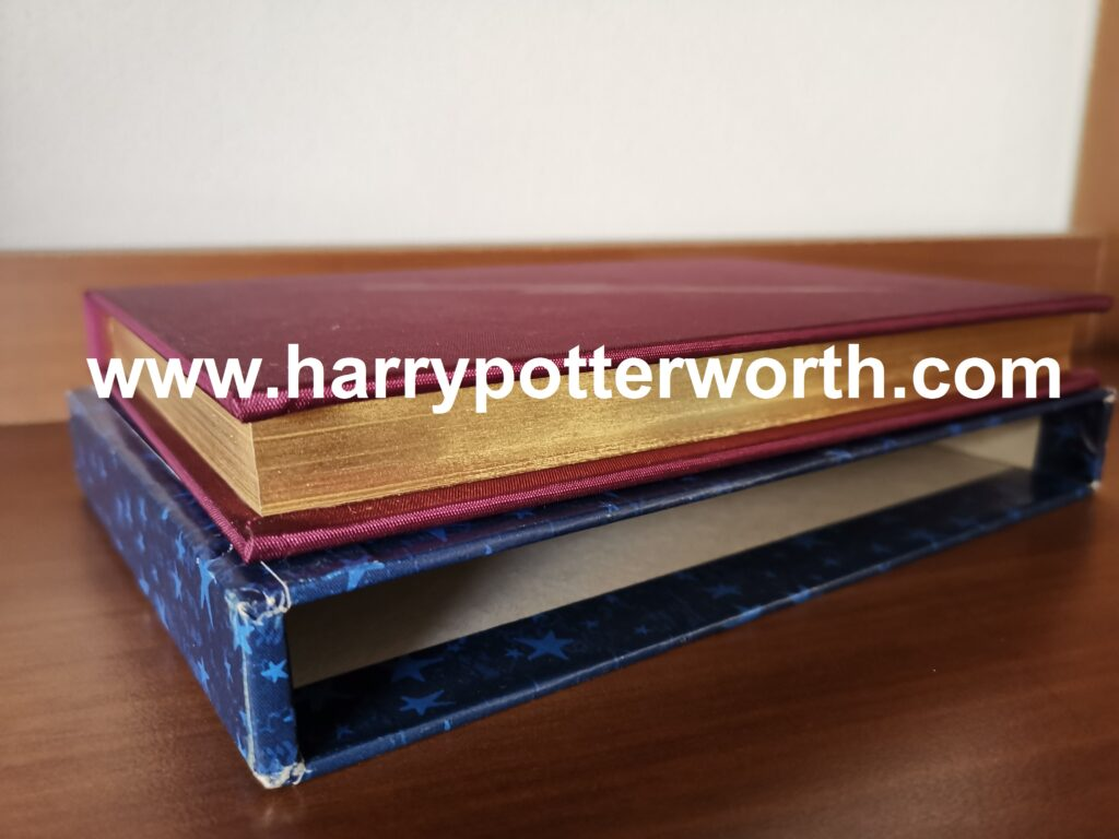 Harry Potter and the Philosopher's Stone Numbered Limited Italian Edition - Golden Pages