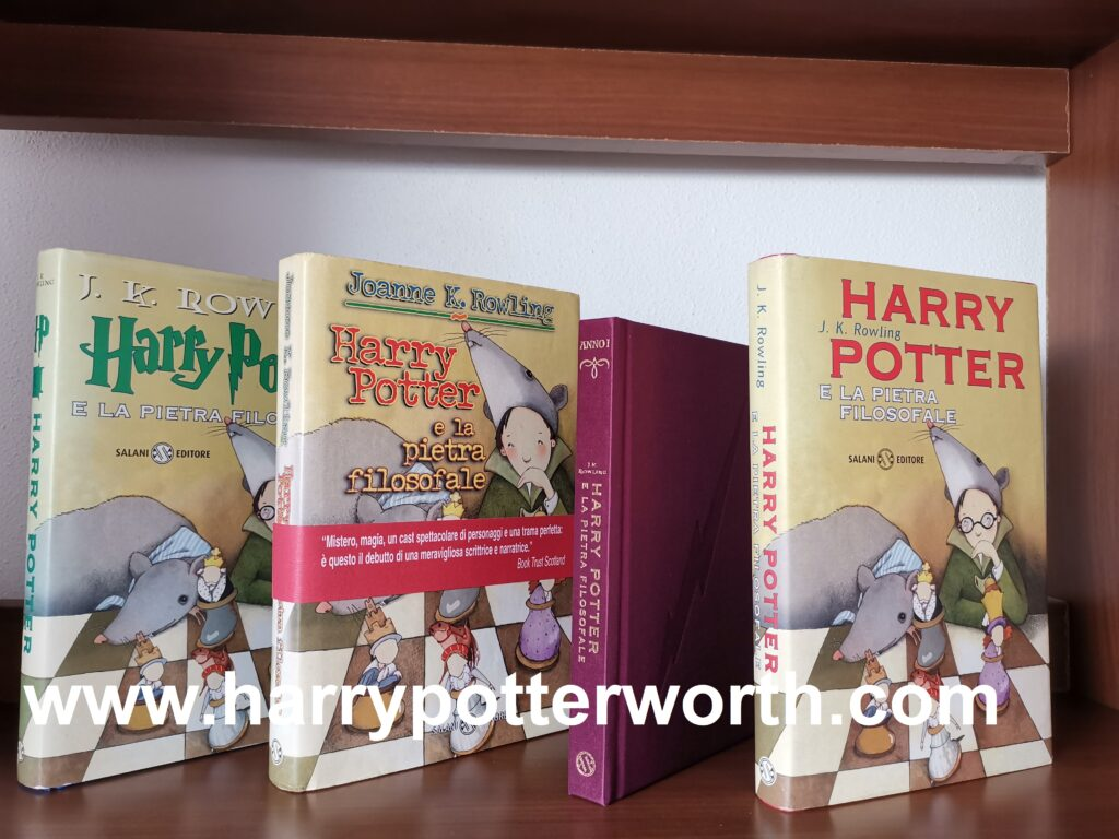 Harry Potter and the Philosopher's Stone First Italian Edition Rare