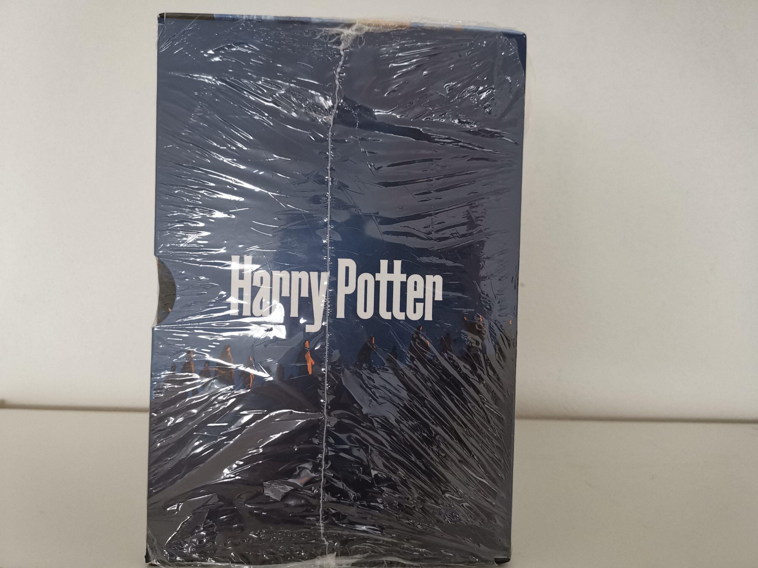 Harry Potter Nuova Edizione 2021 Cofanetto Sigillato De Lucchi