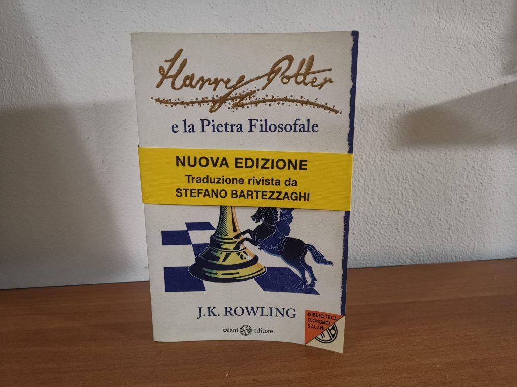 Harry Potter e la Pietra Filosofale Prima Edizione Clare Malinsky Con Rara Fascetta Editoriale