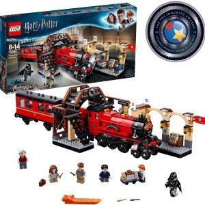 LEGO Harry Potter Espresso per Hogwarts, Giocattolo e Idea Regalo per gli Amanti del Mondo della Magia, Set di Costruzione per Ragazzi, 75955
