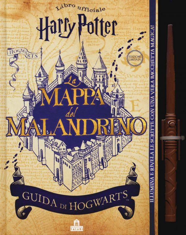 La mappa del Malandrino. Guida a Hogwarts. Harry Potter. Ediz. limitata. Con gadget
