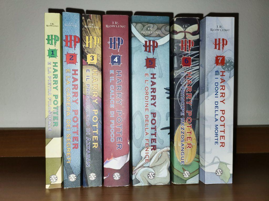 Harry Potter Saga Completa Prima Edizione Brossura