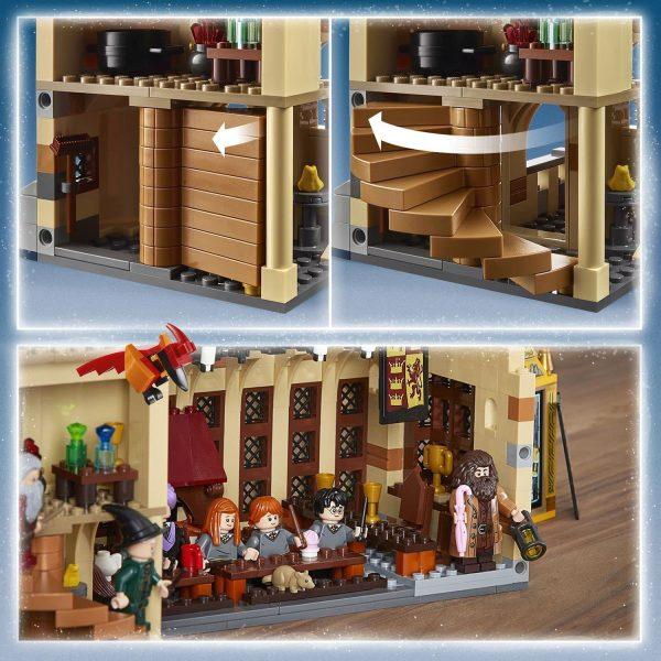 LEGO Harry Potter La Sala Grande di Hogwarts, Giocattolo e Idea Regalo per gli Amanti del Mondo della Magia, Set di Costruzioni per Ragazzi, 75954